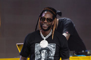 2 Chainz is seen at 'Jimmy Kimmel Live' in Los Angeles, California.