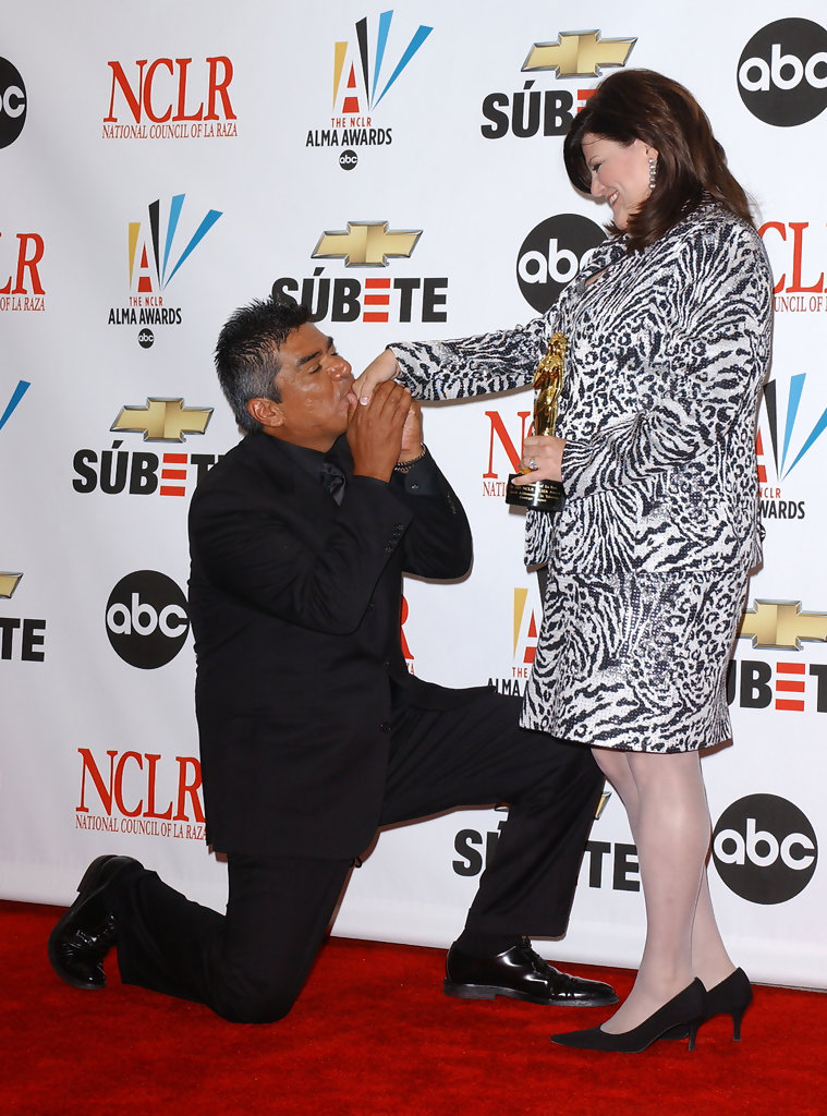 George lopez pictures the press room at the 2007 nclr alma awards