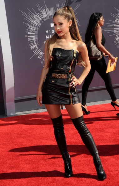 Arrivals at the MTV Video Music Awards at The Forum in Los Angeles.
