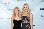 Ashley Campbell and Kim Campbell  are seen attending the 2017 Open Hearts Gala at SLS Hotel in Los Angeles, California.