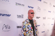 Jim McMahon is seen attending the 2018 Derek Jeter Celebrity Invitational Gala at the Aria Resort & Casino in Las Vegas, Nevada.