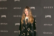 Elisa Sednaoui is seen attending 2018 LACMA Art Film Gala honoring Catherine Opie and Guillermo del Toro presented by Gucci at LACMA in Los Angeles, California.