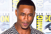 Jessie T Usher is seen at the press line for 'The BoysÕ panel at 2019 Comic-Con International at San Diego Convention Center in San Diego, California.