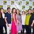 Camryn Manheim Adrian Martinez Photos - Camryn Manheim, Michael Ealy, Cobie Smulders, Tantoo Cardinal, Cole Sibus, Adrian Martinez and Jake Johnson are seen at the press line for 'Stumptown' panel at 2019 Comic-Con International - Day 1 in San Diego, California. - 2019 Comic-Con International - 'Stumptown'