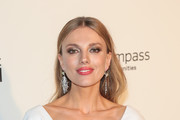 Bar Paly is seen arriving to the 26th Annual Elton John AIDS Foundation's Academy Awards Viewing Party held at West Hollywood Park in Los Angeles, California.