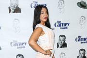Tilda del Toro is seen arriving for the 2nd Annual Carney Awards at The Paley Center.