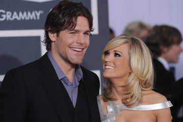 Mike Fisher Carrie Underwood 52nd Annual GRAMMY Awards