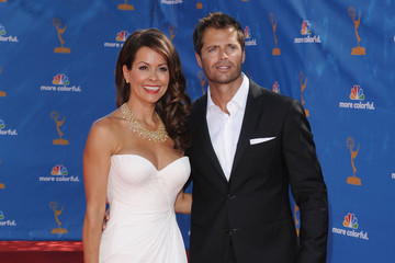 Brooke Burke David Charvet 62nd Annual Primetime Emmy Awards