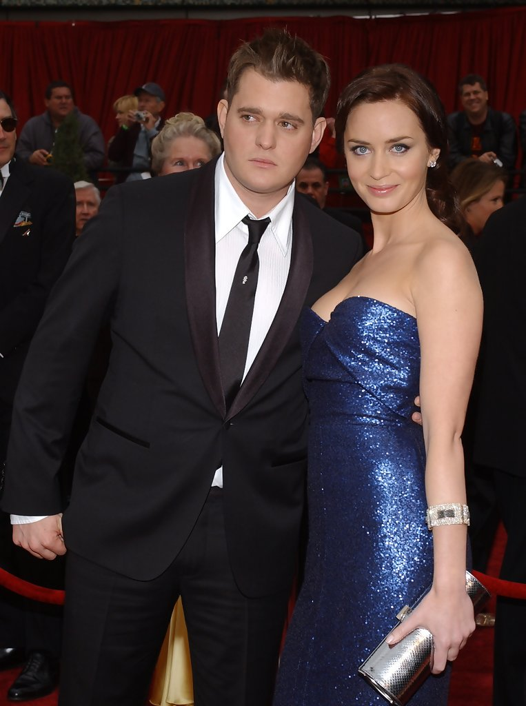 Michael Buble Emily Blunt Emily Blunt Michael Buble 79th