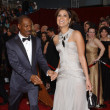 Eddie Murphy and his then girlfriend, Tracey Edmonds, had a cute but weird moment.