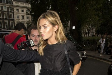 Abbey Clancy LFW 2014: Stars at the Henry Holland Show
