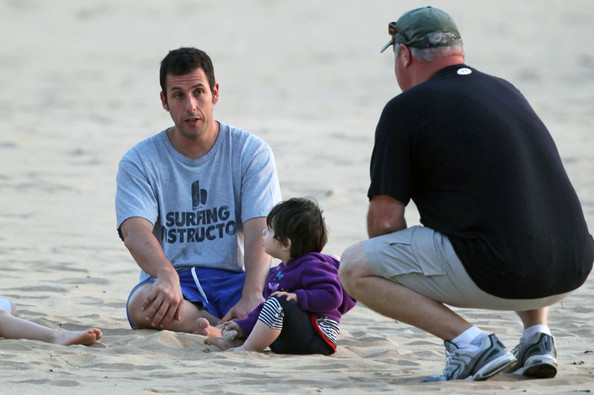 Comedic actor Adam Sandler was