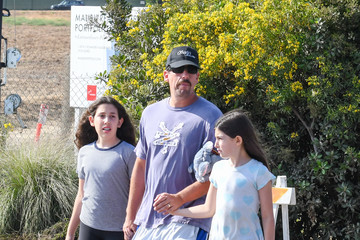 Adam Sandler Sunny Sandler Adam Sandler Spends Time With His Daughters