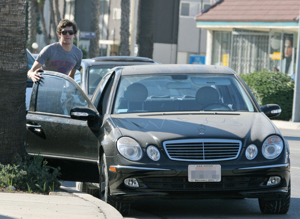photo of Adam Brody Mercedes - car