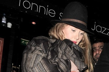 Adele Celebs Leave Ronnie Scott's in London