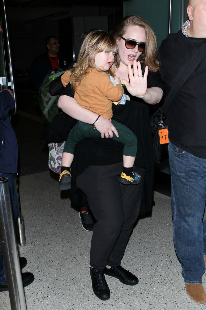 adele photos photos adele at lax zimbio
