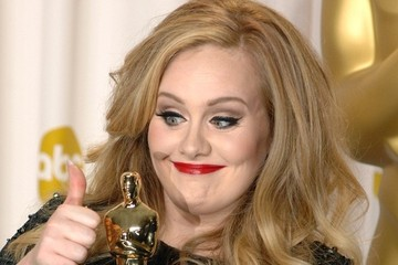 Adele Press Room at the Oscars