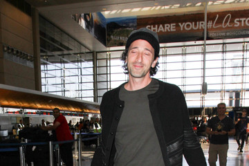 Adrien Brody Adrien Brody Is Seen at LAX
