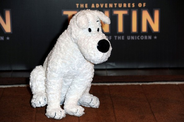 'The Adventures of Tintin: Secret of the Unicorn' photocall held at the Hotel Royal Monceau Raffle .