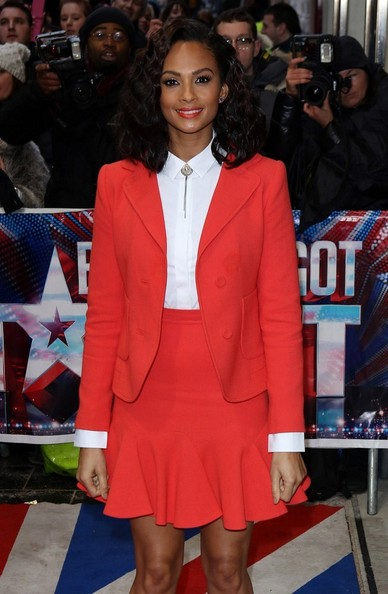 Alesha Dixon - The BGT Judges Arrive