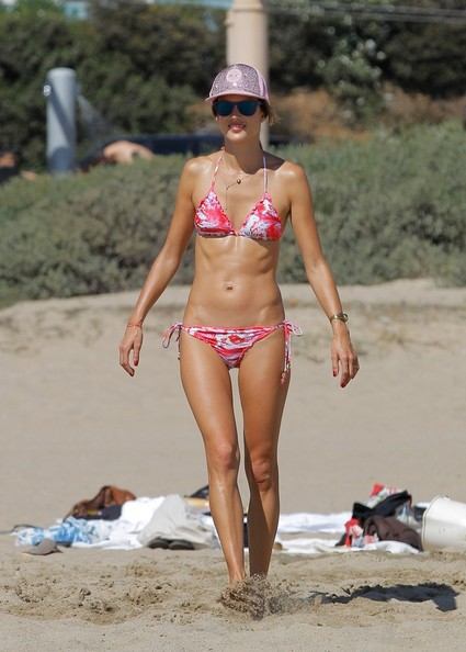 Alessandra Ambrosio at Malibu Beach with Her Family