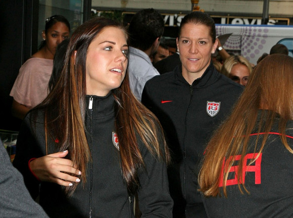 Alex Morgan - Team USA Returns Home