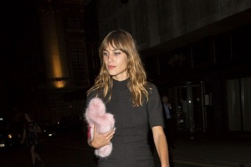 Alexa Chung Celebs at the AnOther Magazine Party