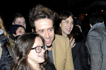 Alexa Chung Nick Grimshaw Celebs Get Ready for Christmas at Primrose Hill