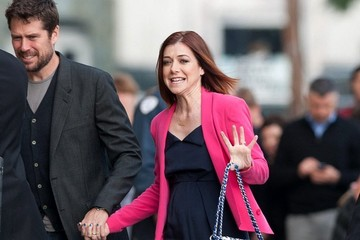 Alexis Denisof Alyson Hannigan Heads to 'Jimmy Kimmel Live!'
