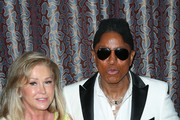 Kathy Hilton and Jermaine Jackson are seen attending the AltaMed Health Services' Power Up, We Are The Future Gala at the Beverly Wilshire Four Seasons Hotel.