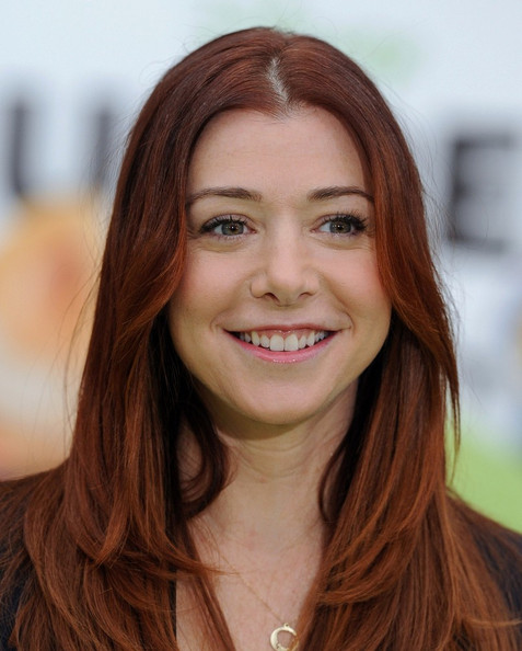 "Alyson Hannigan - ""The Muppets"" World Premiere"