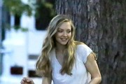 Amanda Seyfried on the 'Ted 2' Set