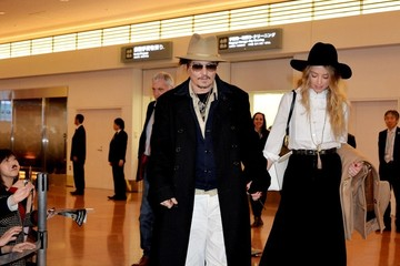 Amber Heard Johnny Depp and Amber Heard in Tokyo