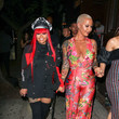 Amber Rose Blac Chyna Outside Craig's Restaurant