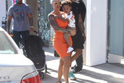 Amber Rose and Her Son Sebastian Shop