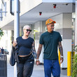 Amber Rose Amber Rose And Alexander 'AE' Edwards Seen In Los Angeles