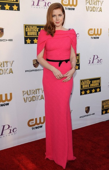 Amy Adams - Arrivals at the Critics' Choice Movie Awards