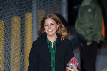 Amy Adams Amy Adams Appears On 'Kimmel'