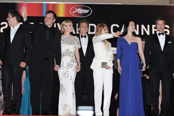 Quentin Tarantino Melanie Laurent 'Inglourious Basterds' Premieres at the 62nd Cannes Film Festival