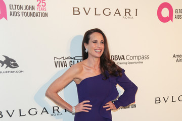 Andie MacDowell 26th Annual Elton John AIDS Foundation's Academy Awards Viewing Party