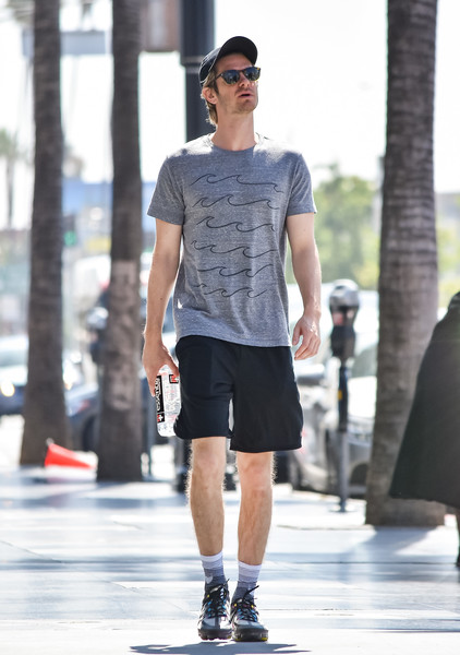Andrew Garfield Seen In Los Angeles On July 12, 2019