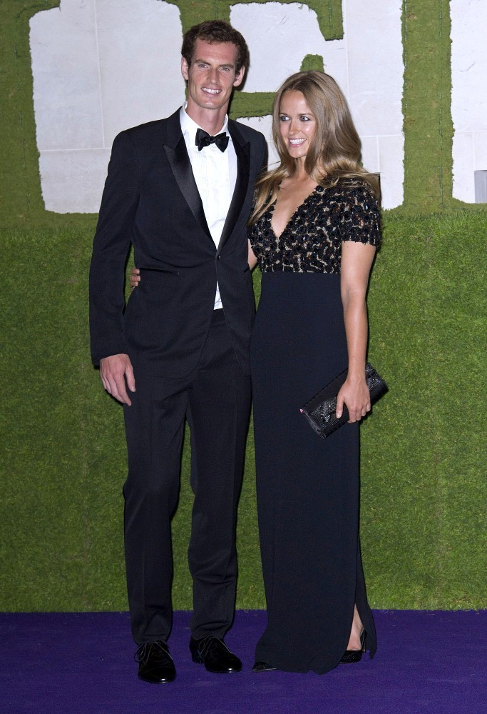 Andy Murray and Kim Sears - Arrivals at the Wimbledon Winners Ball