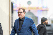 Andy Richter is seen arriving at 'Jimmy Kimmel Live' on January 4, 2017.