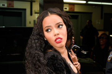 Angela Simmons Angela Simmons Out and About