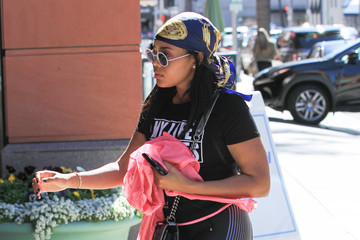 Angela Simmons Celebrities Are Spotted in Beverly Hills
