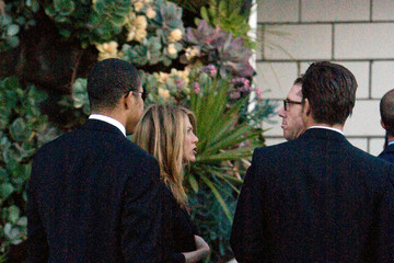 Chris McMillan Jennifer Aniston at Kelsie Gigandet's Wedding