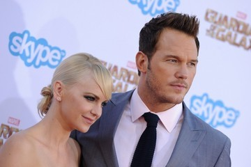 Anna Faris 'Guardians of the Galaxy' Premieres in Hollywood