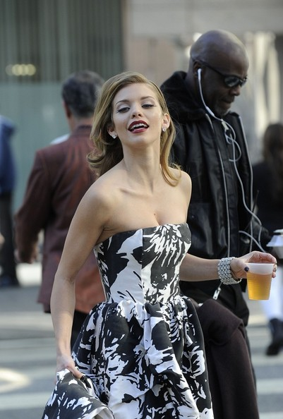 AnnaLynne McCord - AnnaLynne McCord on the Set of '90210'