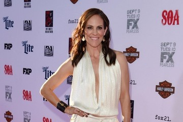 "Annabeth Gish ""Sons of Anarchy"" Premiere"