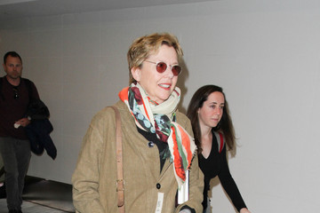 Annette Bening Annette Bening Is Seen at LAX